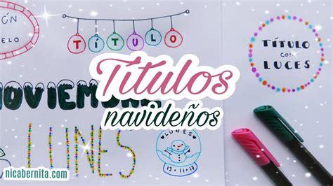 decorar letras instagram ideas para decorar apuntes y cuadernos en navidad 1