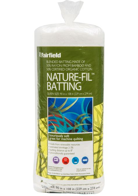Bamboo Quilt Batting by Nature Fil Blend Quilt Batting 50 Rayon From Bamboo 50