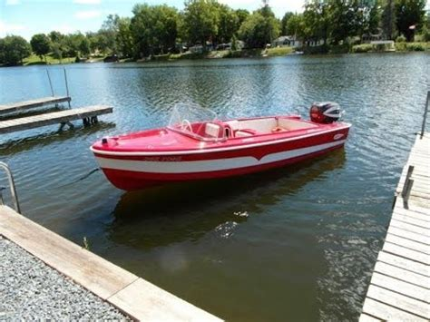 the boat on 1960 1960 larson youtube