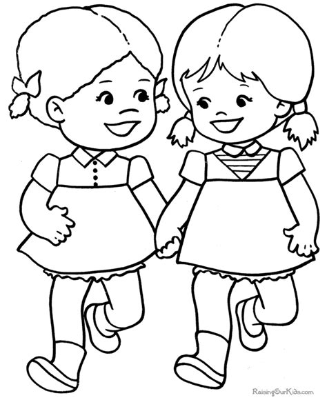 Child Coloring Page child coloring pages az coloring pages