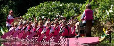 dragon boat festival 2017 portage lakes breast cancer survivor team races dragon boats to support