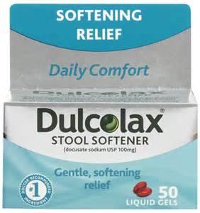 dulcolax stool softener liquid gels free shipping