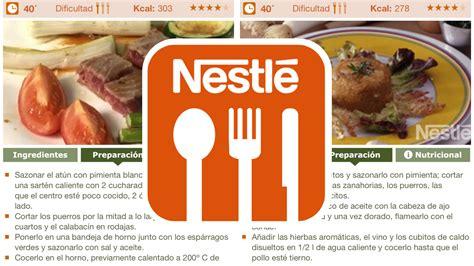 nestl cocina recetario recetas de cocina para android descargar