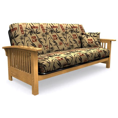 tropical futon covers full size futon cover with 2 free pillows bamboo