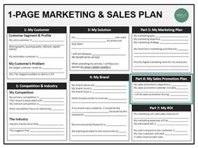 sales and marketing plan template marketing sales boot c 8 sales and promotion