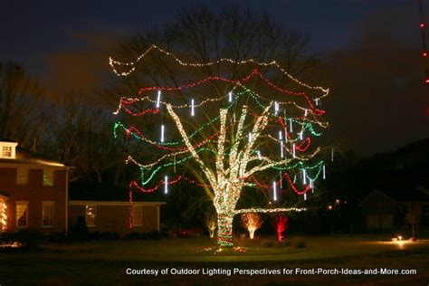 outdoor lights for trees outdoor light ideas to make the season sparkle