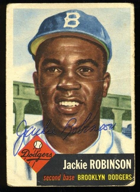 jackie robinson baseball card template 25 best ideas about baseball cards on