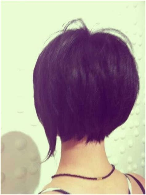 back of bob haircut pictures short bob hairstyles back view popular haircuts