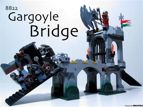 Dijamin Original Lego Minifigure Polybag Friends 30205 review 8822 gargoyle bridge lego historic themes eurobricks forums