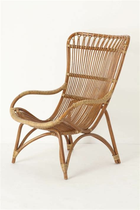Rattan Armchair Great Rattan Chair A Matching Ottoman Is Available