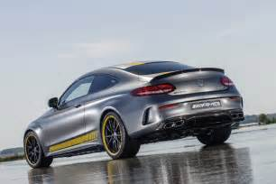 Mercedes Amg Coupe Mercedes Amg C63 Coupe Edition 1 Unveiled Ahead Of
