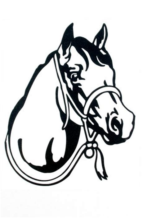 Equine Home Decor teskey s saddle shop western graphics horse head decal