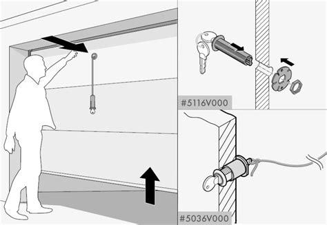 Overhead Door Emergency Release Emergency Release Lock