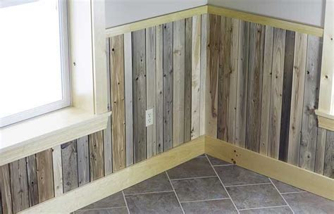 Pallet Wainscoting by Reclaimed Wainscoting From Maine Heritage Timber