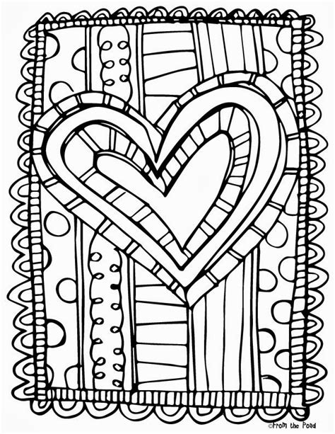 Valentine Math Worksheets 4th Grade Printable Valentine Coloring Pages For 4th Grade