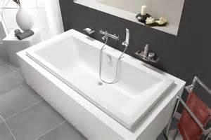baignoire rectangulaire dos quadra rectangulaire