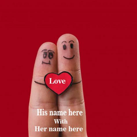 write    love fingers images whatsapp dp