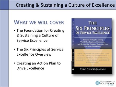 poised for excellence fundamental principles of effective leadership in the boardroom and beyond books creating a culture of service excellence
