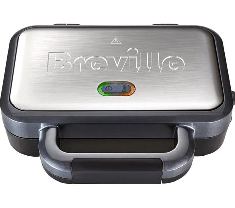 Sandwich Toaster Reviews Uk Buy Breville Vst041 Deep Fill Sandwich Toaster Graphite