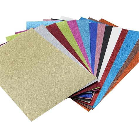 A4 Paper Craft - a4 glitter card invitation wedding invites