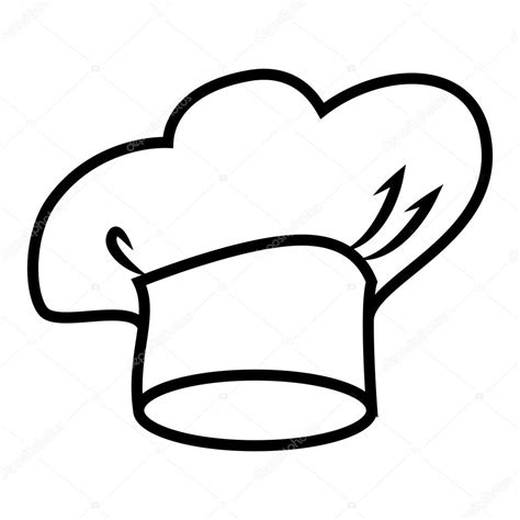 coloring page chef hat chef hat coloring coloring pages