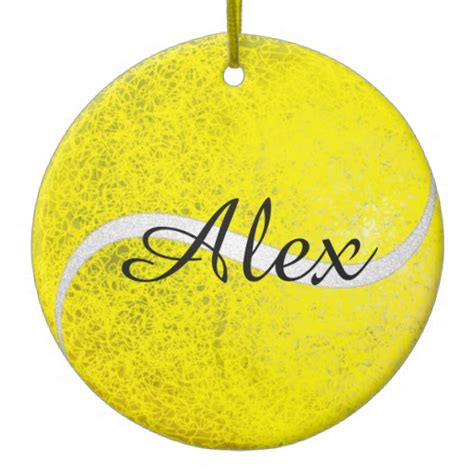tennis christmas ornaments