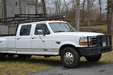 ford f 350 diesel dually 1997 ford f 350 dually xlt cab 7 3l diesel truck