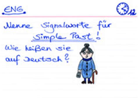 wann benutzt simple past simple past