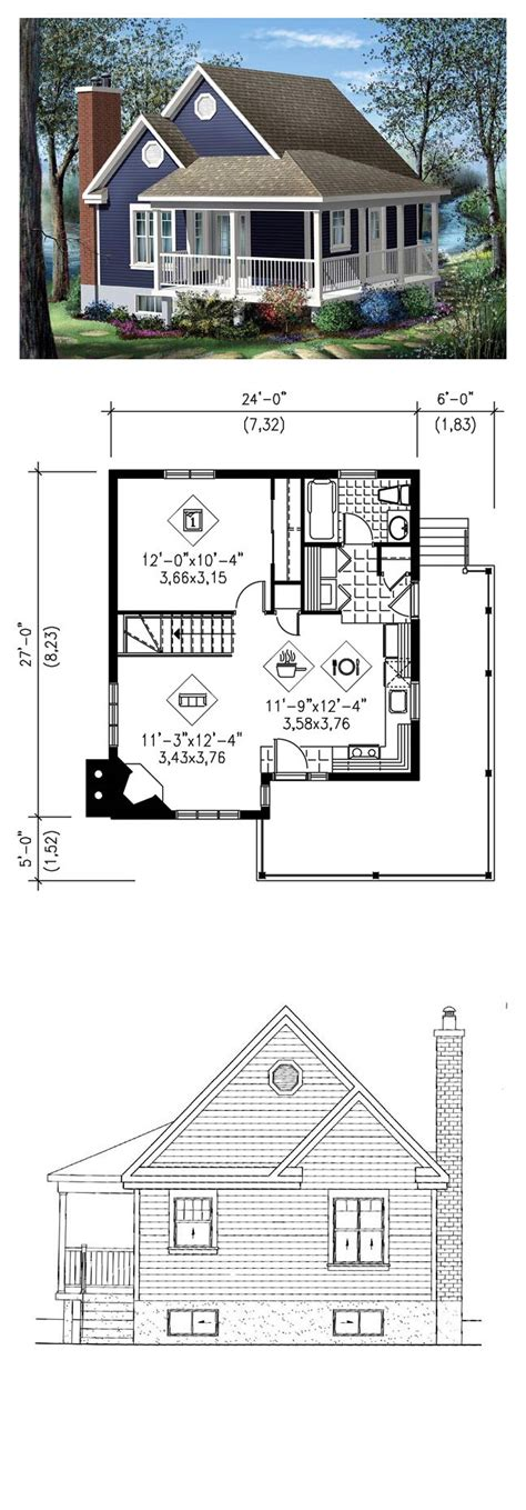 large cottage house plans 25 best ideas about 1 bedroom house plans on pinterest