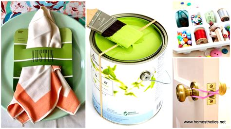 household hacks crafts with everyday household items