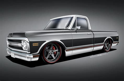And C10 1969 chevrolet c10 smokin charcoal c10 rod network