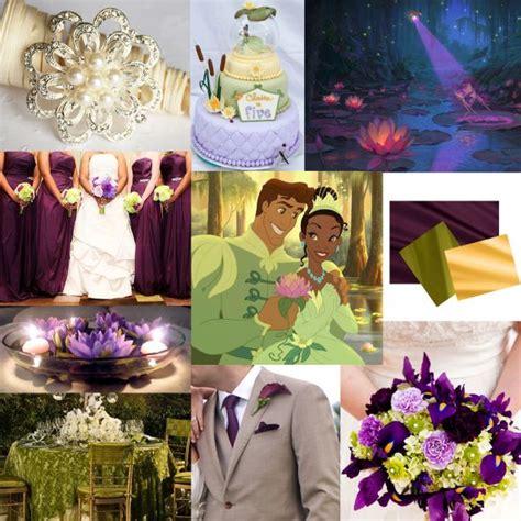 disneyprincess   frog themed wedding details