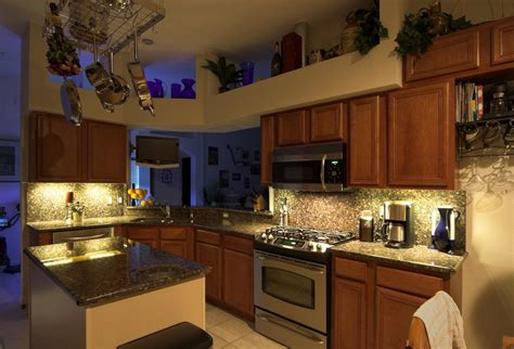 Kitchen Accents by Recessed Kitchen Cabinet Lighting With Energy Saving Led