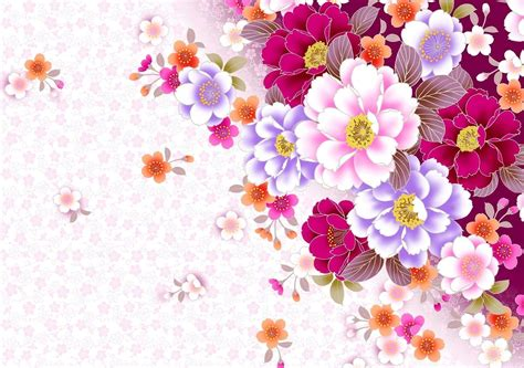 wallpaper flower design floral desktop backgrounds wallpaper cave