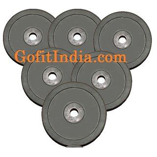bench press rod weight gofitindia rubber weight plate of 7 5 kg for bench press or dumbbell rod at best