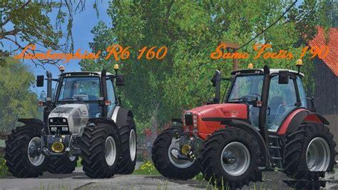 Lamborghini R6 150 Tractor Lamborghini R6 160 Tractor For Fs 15 Farming Simulator