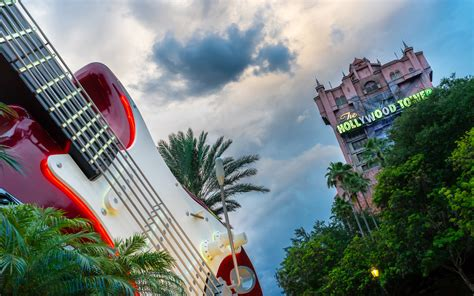 hollywood tower guitar hollywood studios widescreen