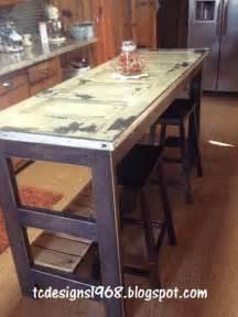 old door kitchen island dresser