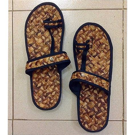 abaca slipper slippers made of abaca made in bicol localkicks proudlyp
