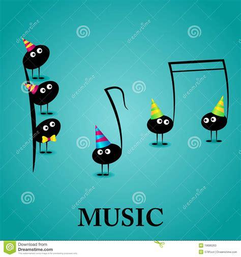 imagenes con motivos musicales tarjeta de felicitaci 243 n musical fotos de archivo imagen