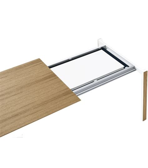 thin table l thin k extendable table in wood kristalia milia shop