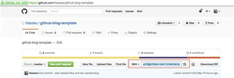templates for github pages 如何使用 github pages 搭建博客 taotao s zone