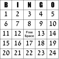 Number 100 Template by Free Printable Blank Bingo Cards Template Numbers 1 100