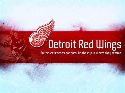 detroit red wings logo wallpaper wallpapersafari