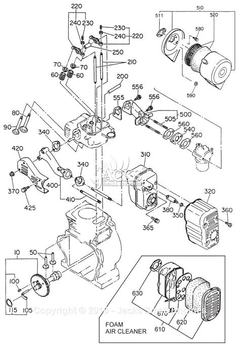 Robin Subaru Eh25 Parts Diagram For Intake Exhaust