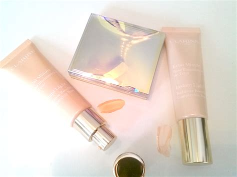 Powder Ms Glow By Cantikskincare review swatches clarins golden glow booster complexion base opalescence blush powder