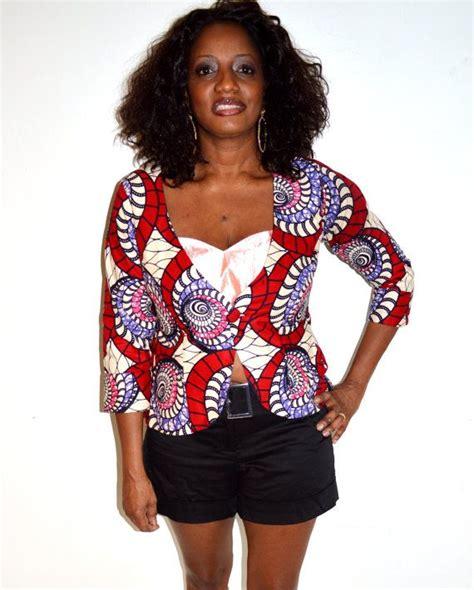 nigerian ankara jackets african fabric jacket ankara african wax print by
