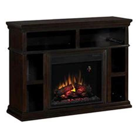 electric fireplace media center on menards