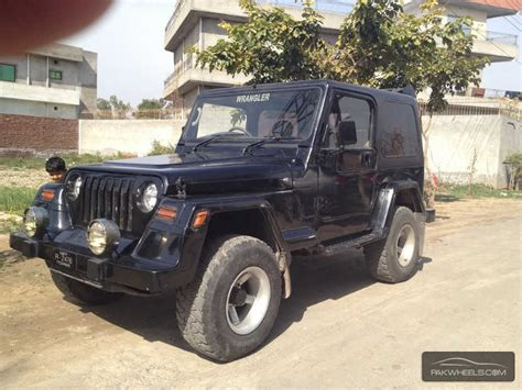 Jeeps In Punjab For Sale Jeep Wrangler 1989 For Sale In Lahore Pakwheels