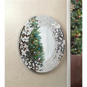 bathroom mirror mosaic mosaic stunning glass wall mirror oval bathroom bedroom